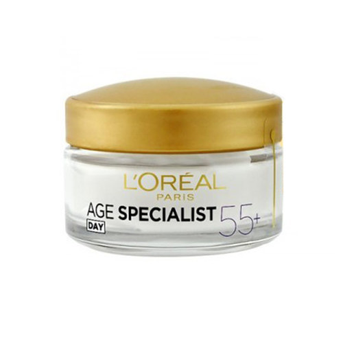 L/oreal Paris Age Specialist 55+ Day Cream 50ml (Wrinkles - All Skin Types)
