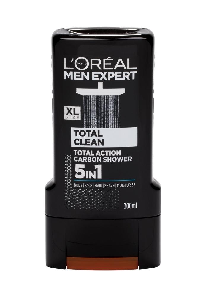 L/oreal Paris Men Expert Total Clean Shower Gel 300ml 5 In 1