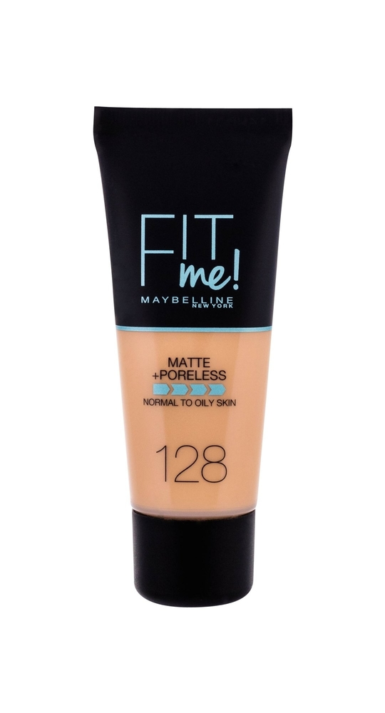 Maybelline Fit Me! Matte + Poreless Makeup 30ml 128 Warm Nude