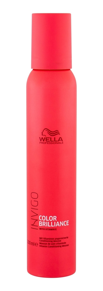 Wella Wpc Invigo Brilliance Vitamin Cond Mousse 200ml