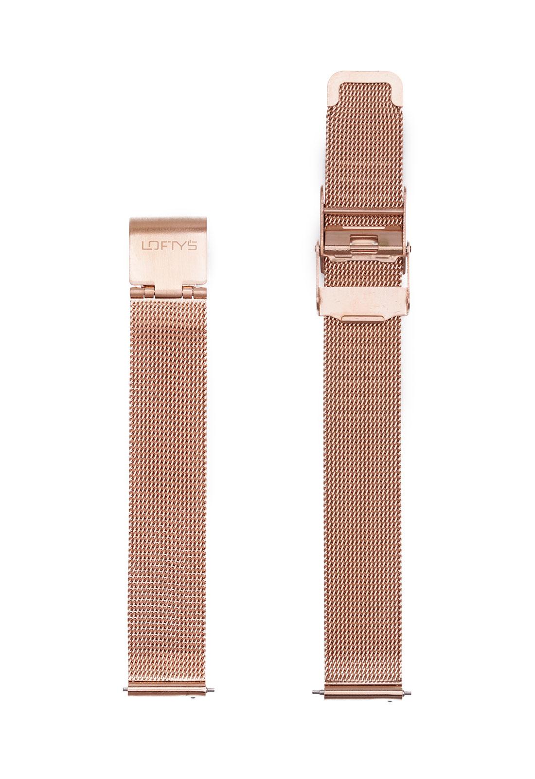 Μπρασελέ Ρολογιού σε Ροζ Χρυσό - Mesh 14mm