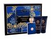 Versace Pour Homme Dylan Blue Eau De Toilette 50ml Combo: Edt 50 Ml + Shower Gel 50 Ml + Aftershave Balm 50 Ml
