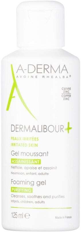 A-derma Dermalibour+ Foaming Gel Shower Gel 125ml