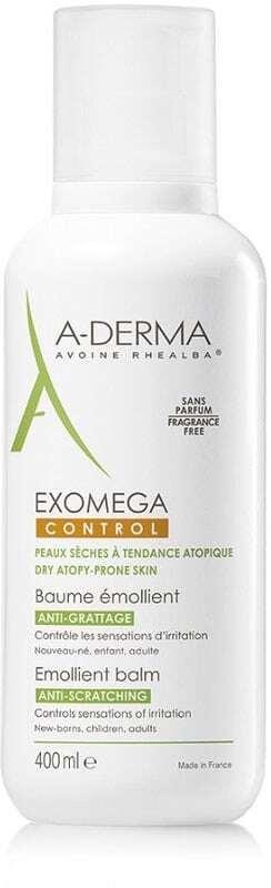 A-derma Exomega Control Emollient Balm Body Balm 400ml