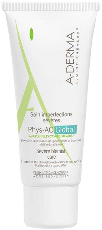 A-derma Phys-AC Global Complete Care Day Cream 40ml (Young Skin)
