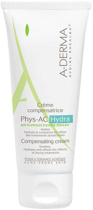 A-derma Phys-AC Hydra Compensating Moisturizing Cream Day Cream 40ml (Young Skin)