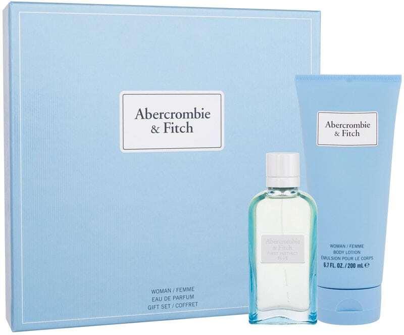 Abercrombie & Fitch First Instinct Blue Eau de Parfum 50ml Combo: Edp 50 Ml + Body Lotion 200 Ml