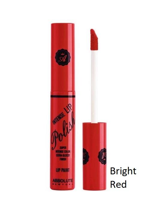 Absolute New York Intense Lip Polish- NFA89 Bright Red 6gr