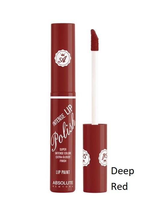 Absolute New York Intense Lip Polish-NFA90 Deep Red 6gr