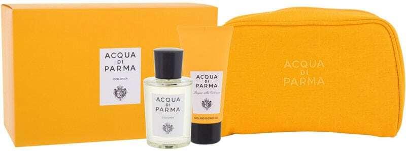 Acqua Di Parma Colonia Eau de Cologne 100ml Combo: Eau De Cologne 100 Ml + Shower Gel 75 Ml + Cosmetic Bag