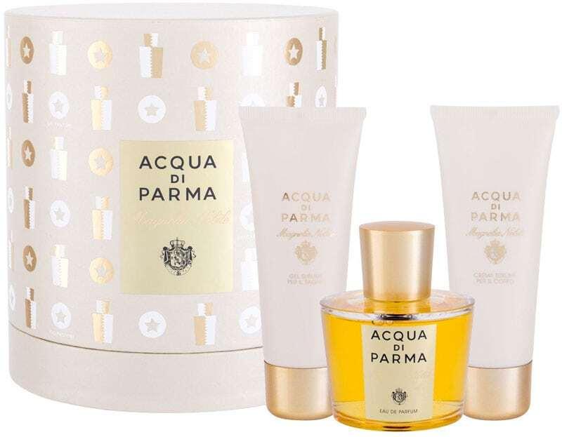 Acqua Di Parma Magnolia Nobile Eau de Parfum 100ml Combo: Edp 100 Ml + Body Cream 75 G + Shower Gel 75 Ml