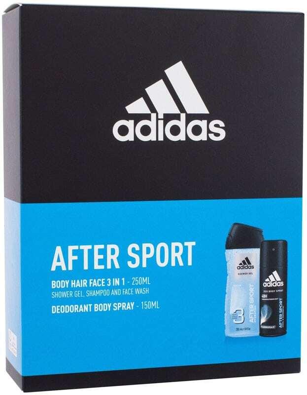 Adidas After Sport After Sport Deodorant 150ml Combo: Deodorant 150 Ml + Shower Gel 250 Ml (Deo Spray)