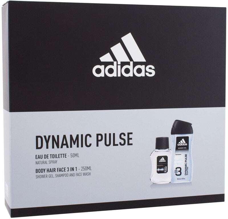 Adidas Dynamic Pulse Eau de Toilette 50ml Combo: Edt 50 Ml + Shower Gel 250 Ml