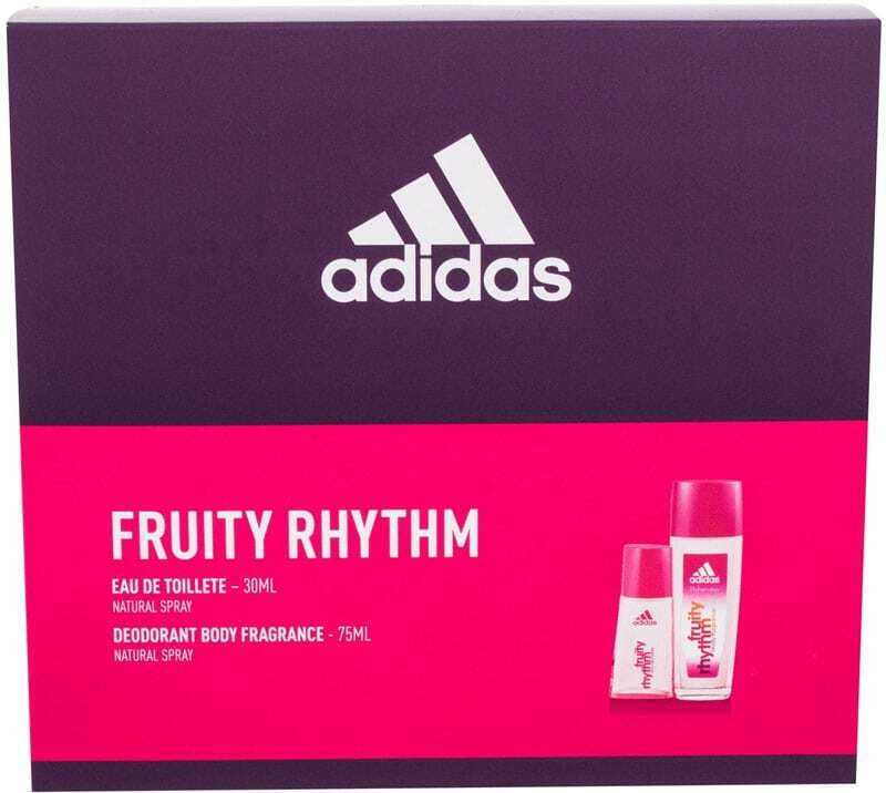 Adidas Fruity Rhythm For Women Eau de Toilette 30ml Combo: Edt 30 Ml + Deodorant 75 Ml