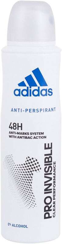 Adidas Pro Invisible 48H Antiperspirant 150ml (Deo Spray - Alcohol Free)
