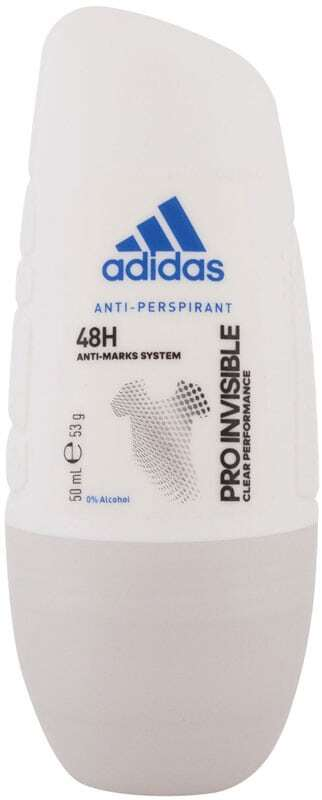 Adidas Pro Invisible 48H Antiperspirant 50ml (Roll-On - Alcohol Free)