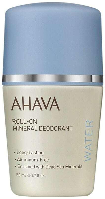 Ahava Deadsea Water Magnesium Rich Deodorant 50ml (Roll-On - Alcohol Free - Aluminium Free)