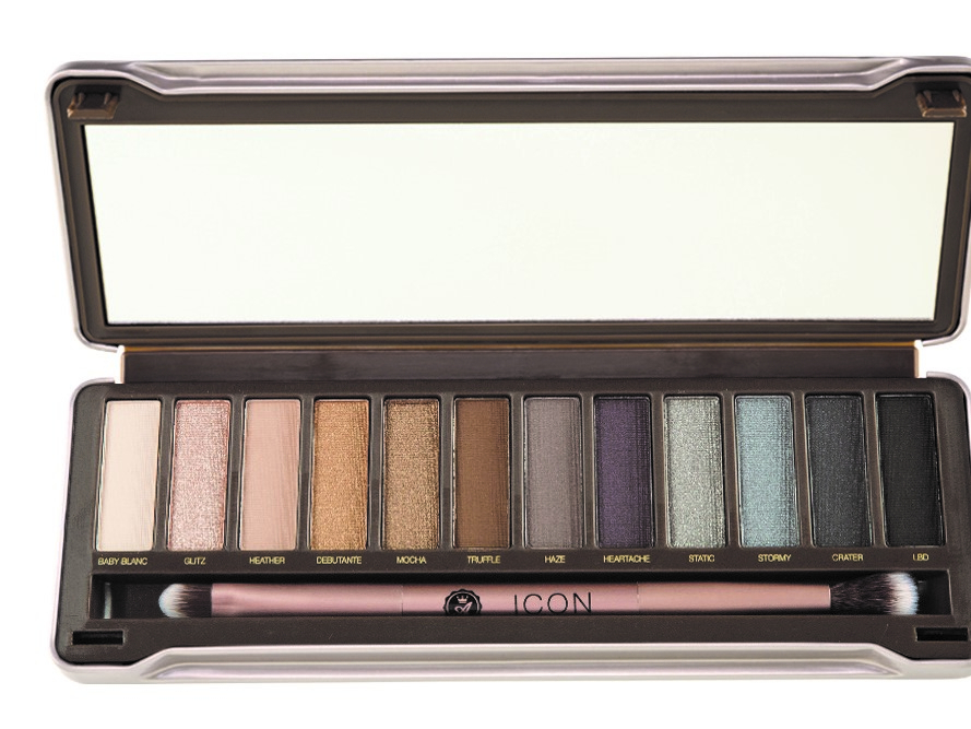 Absolute New York Icon Absolute New York Eyeshadow Palette - Smoked 13,2gr