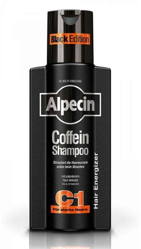 Alpecin Coffein Shampoo C1 Black Edition Shampoo 250ml (Anti Hair Loss)