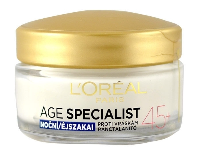 L/oreal Paris Age Specialist 45+ Night Skin Cream 50ml (Wrinkles - All Skin Types)