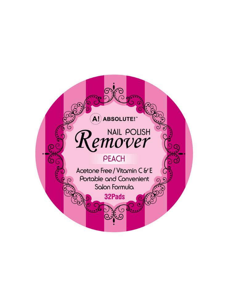 Nicka K New York Nail Polish Remover-Peach 32 Pads 2,5ml