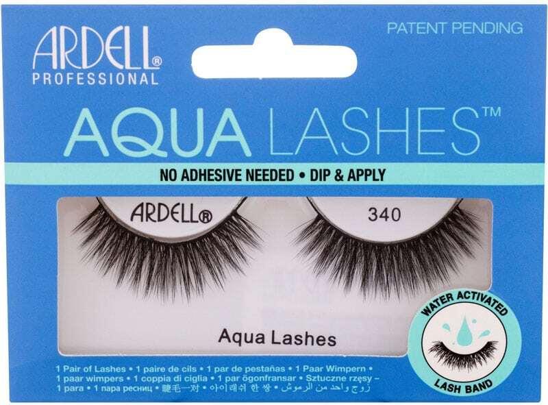 Ardell Aqua Lashes 340 False Eyelashes Black 1pc