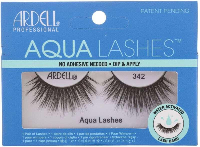 Ardell Aqua Lashes False Eyelashes Black 1pc