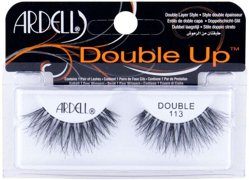 Ardell Double Up 113 False Eyelashes Black 1pc