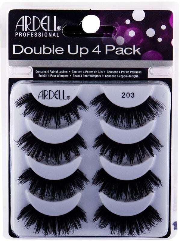 Ardell Double Up 203 False Eyelashes Black 4pc