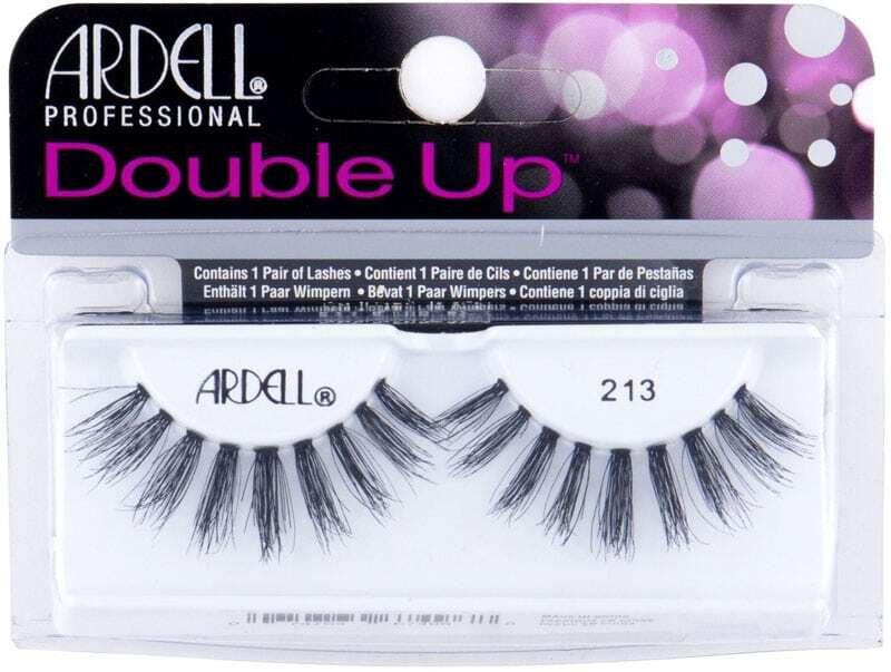 Ardell Double Up 213 False Eyelashes Black 1pc