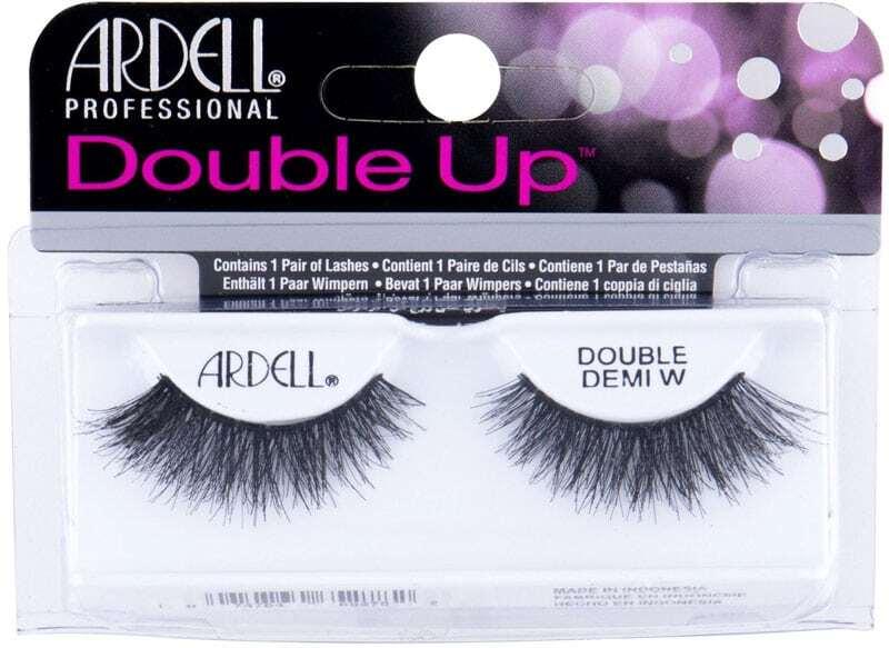Ardell Double Up Double Demi Wispies False Eyelashes Black 1pc