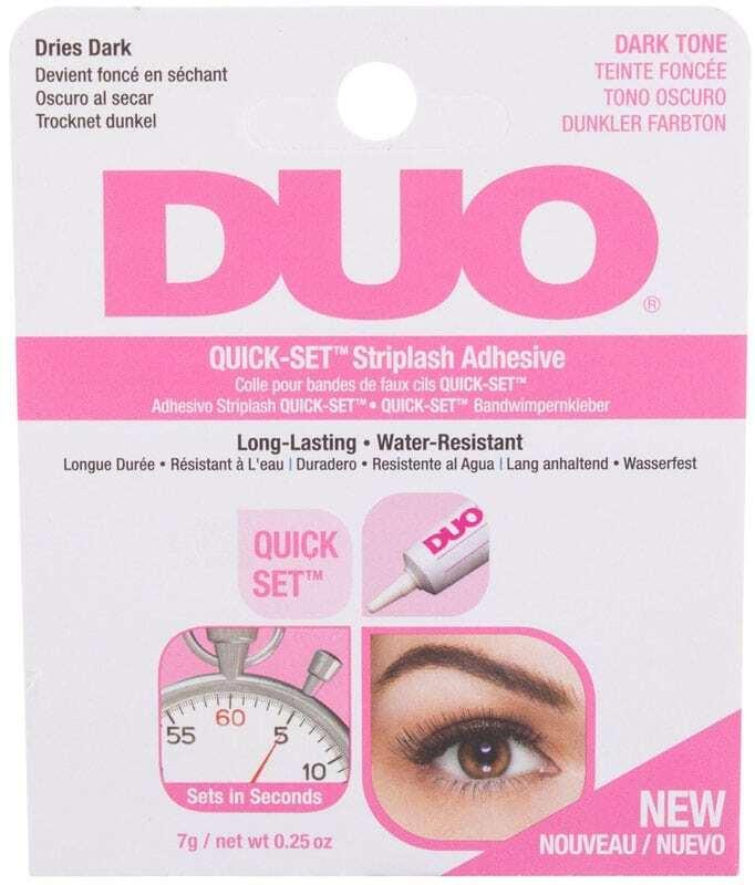 Ardell Duo Quick-Set™ Striplash Adhesive Dark Tone False Eyelashes 7gr