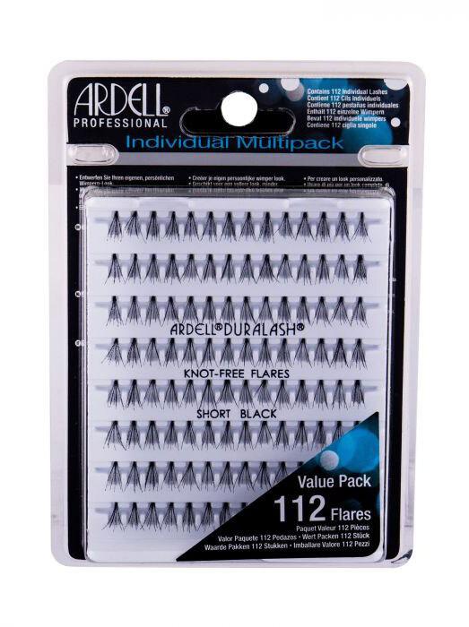 Ardell Individuals Duralash Knot-Free Flares False Eyelashes Short Black 112pc