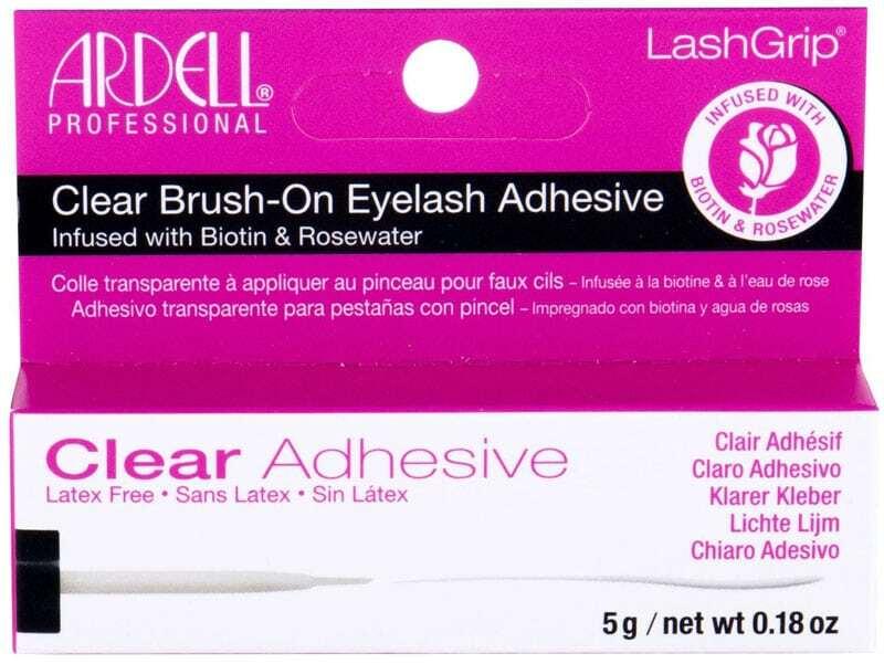 Ardell LashGrip Clear Adhesive Brush-On False Eyelashes 5gr