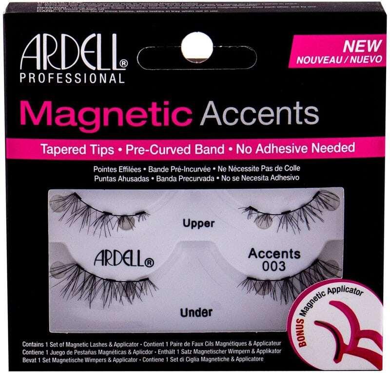 Ardell Magnetic Accents 003 False Eyelashes Black 1pc