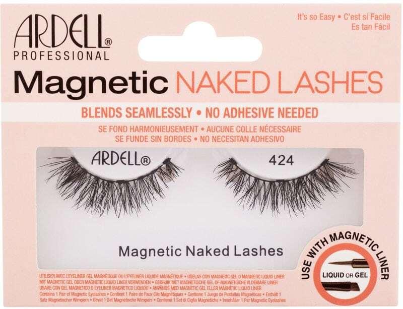 Ardell Magnetic Naked Lashes 424 False Eyelashes Black 1pc
