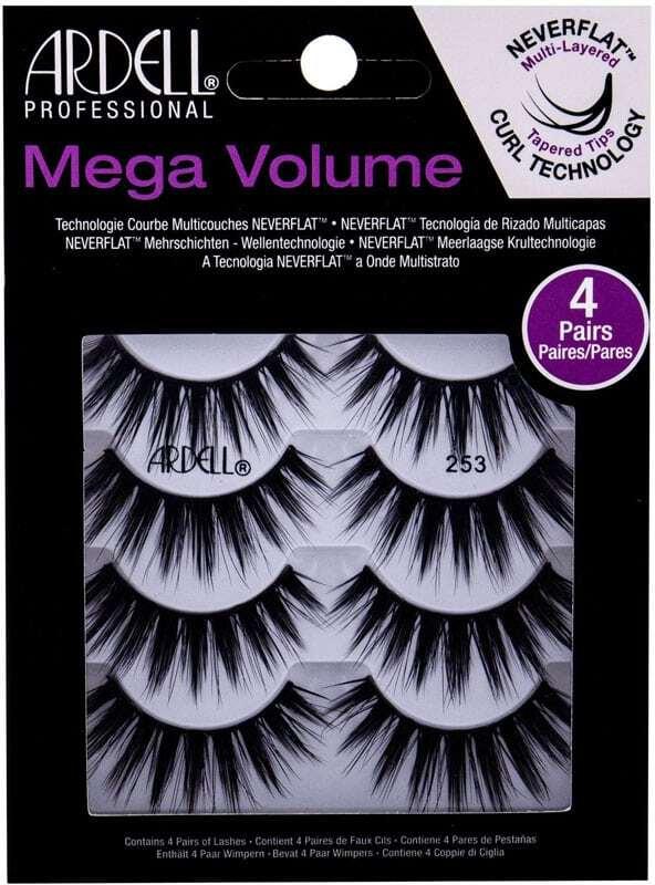 Ardell Mega Volume 253 False Eyelashes Black 4pc