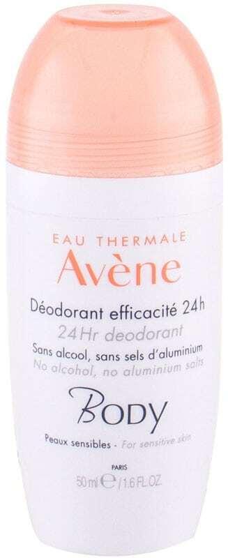 Avene Body Regulating Deodorant Deodorant 50ml (Roll-On - Alcohol Free - Aluminium Free)