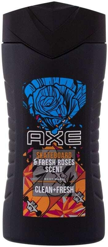 Axe Skateboard & Fresh Roses Scent Shower Gel 250ml