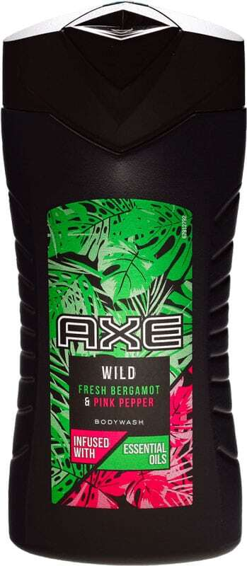 Axe Wild Fresh Bergamot & Pink Pepper Shower Gel 250ml
