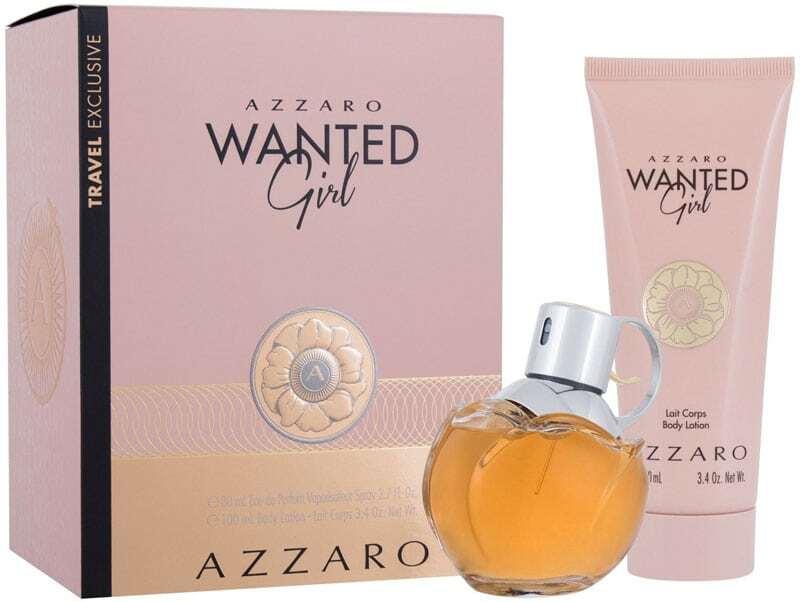 Azzaro Wanted Girl Eau de Parfum 80ml Combo: Edp 80 Ml + Body Lotion 100 Ml