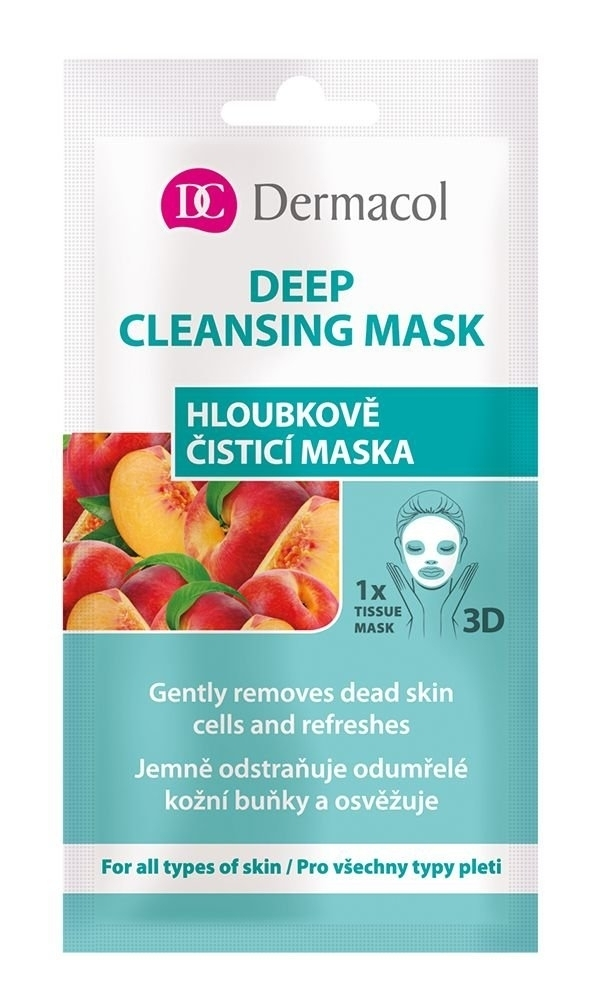 Dermacol Deep Cleansing Mask Face Mask 15ml (All Skin Types - For All Ages)