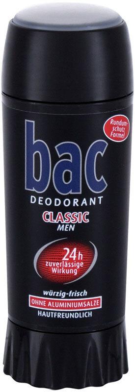Bac Classic 24h Deodorant 40ml (Deostick - Aluminium Free)
