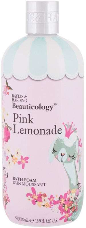 Baylis & Harding Beauticology Pink Lemonade Bath Foam 500ml