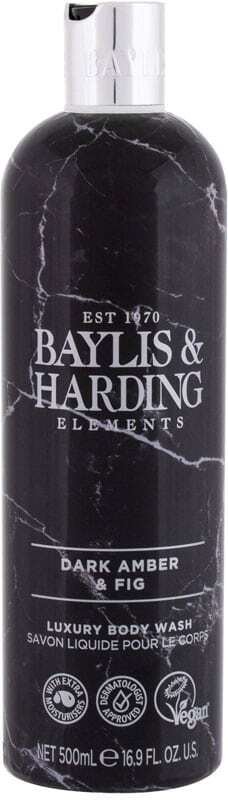 Baylis & Harding Elements Dark Amber & Fig Shower Gel 500ml