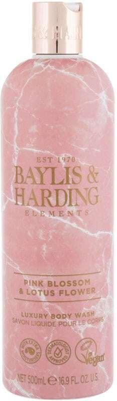 Baylis & Harding Elements Pink Blossom & Lotus Flower Shower Gel 500ml