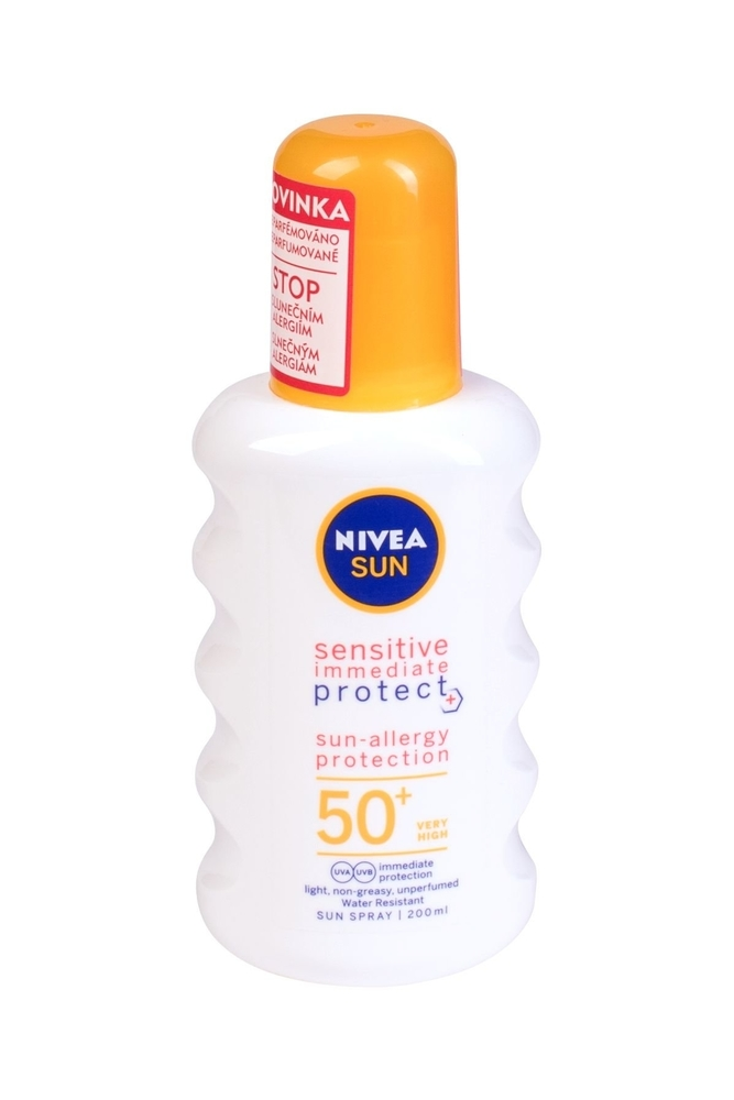Nivea Sun Sensitive Protect Sun-allergy Sun Body Lotion 200ml Waterproof Spf50