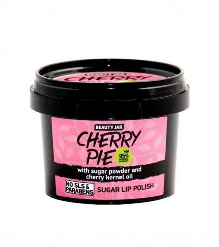 """Beauty Jar """"CHERRY PIE"""" Απαλό Peeling Χειλιών, 120gr"""