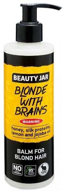 "Beauty Jar ""BLONDE WITH BRAINS"" Conditioner για ξανθά μαλλιά 250ml"