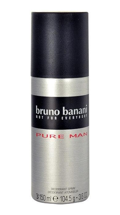 Bruno Banani Pure Man Deodorant 150ml Aluminum Free (Deo Spray)